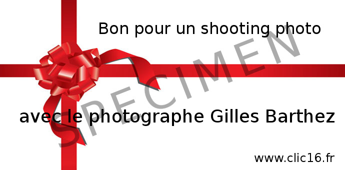 carte cadeau shooting photo professionnel angouleme cognac charente