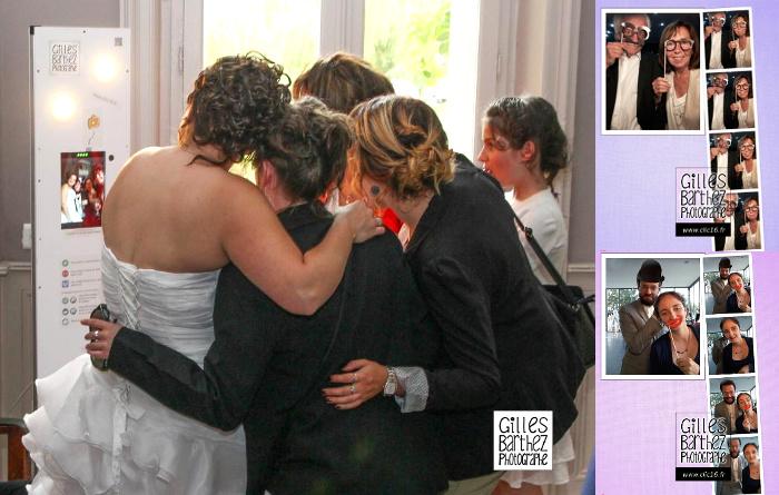 borne photo photobooth pour animer un mariage une soir e. Black Bedroom Furniture Sets. Home Design Ideas