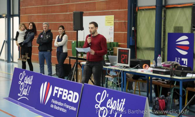competition sportive sport club badminton athletisme natation charente gond pontouvre